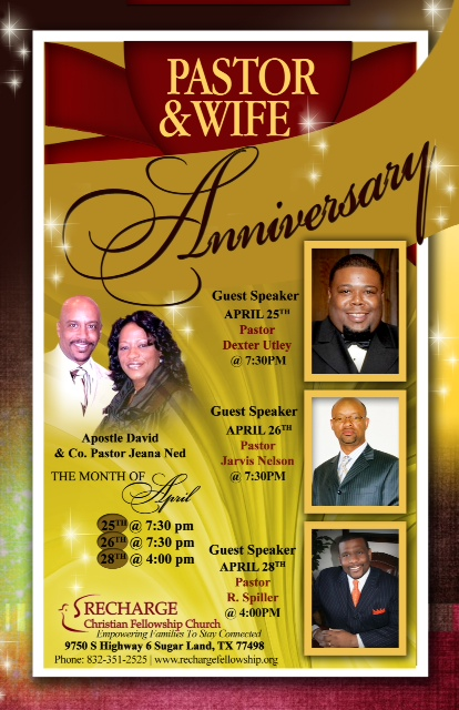 Pastor And Wife Appreciation Theme